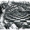 Sir John Tenniels 1875 Through the Looking Glass Chessboard